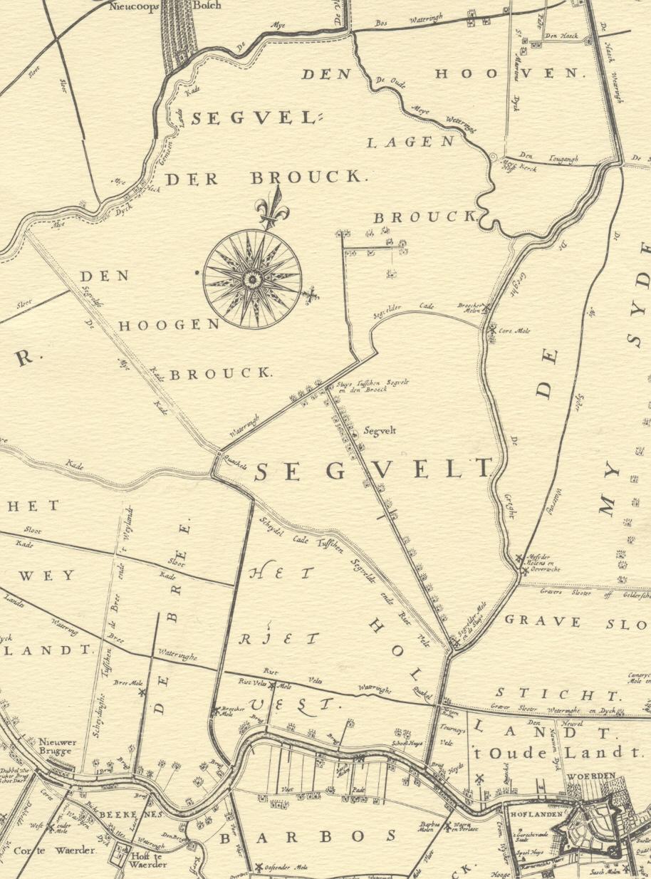kaart zegveld