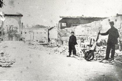 Bodegraven: vlak na de dorpsbrand van 1870