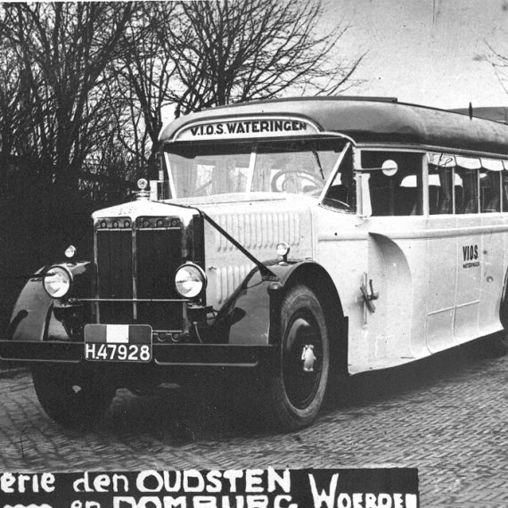 Unieke fotocollectie over autobussen