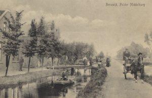 De Middelburgseweg, circa 1890.