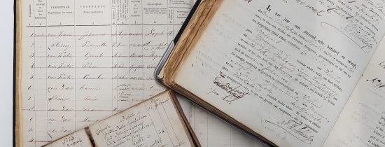 Vrijwilligerswerk in het oud-archief