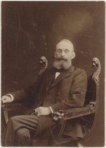 Arend Ludolf Wichers (1858-1914), burgemeester van Oudewater van 1902 tot en met 1914.