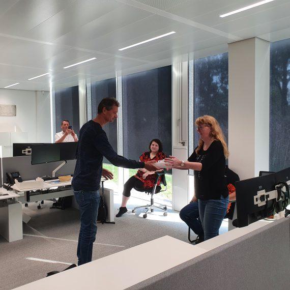Afscheid medewerker Anita van Vliet