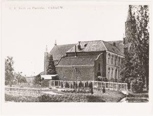 De pastorie, 1900-1926 (fotonummer: L1840).