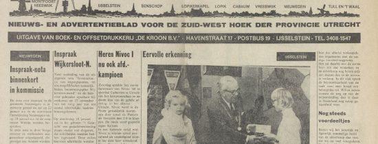 Nieuwe aanwinsten krantenbank: Zenderstreeknieuws, Zenderstadnieuws & De IJsselsteiner (1958-1995)