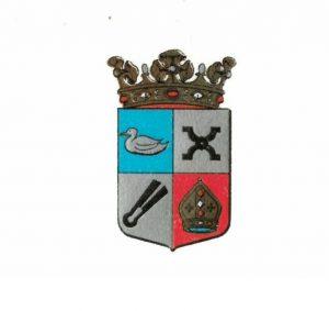 Het wapen van de gemeente Driebruggen.